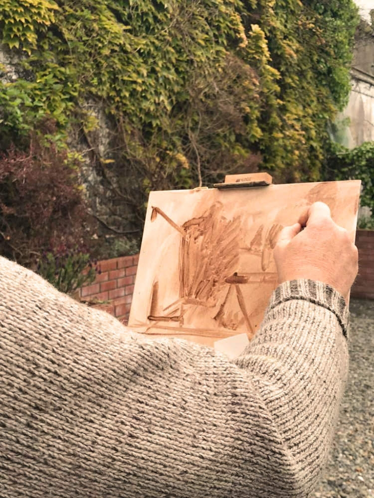 2019-painting-holiday-an-grianan-Kevin-mcsherry-art-class-dublin-beginners-oils-