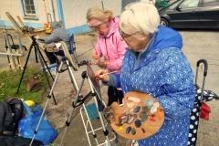 2019-aug-an-grianan-painting-weekend-kevin-mcsherry-art-classes-dublin-retreats-workshops-outside-en-plein-air-landscape-5