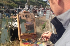 2019-aug-an-grianan-painting-weekend-kevin-mcsherry-art-classes-dublin-retreats-workshops-outside-en-plein-air-landscape-5