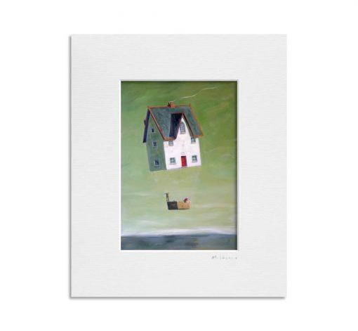 050825 Dream House. Kevin McSherry Illustration affordable open edition print McSherryStudio.com