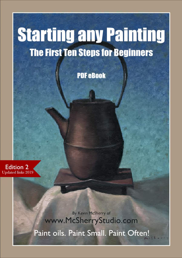 eBook Guide Oil Painting.  10 steps to better oil painting for any artist