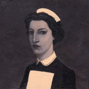 160310 Sister. Kevin McSherry Illustration affordable open edition print McSherryStudio.com
