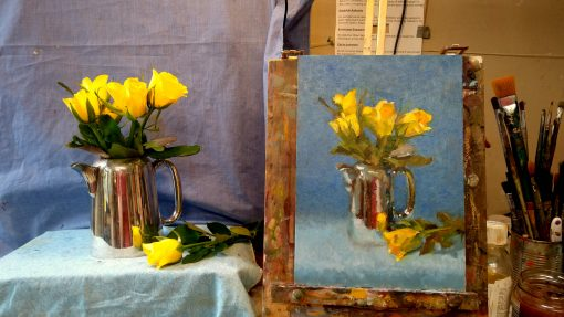 McSherryStudio.com Zoom online art classes with Kevin McSherry all over Ireland and the UK