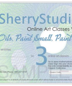 201125 voucher 3 McSherryStudio.com Zoom online art and painting classes with Kevin McSherry all over Ireland and the UK