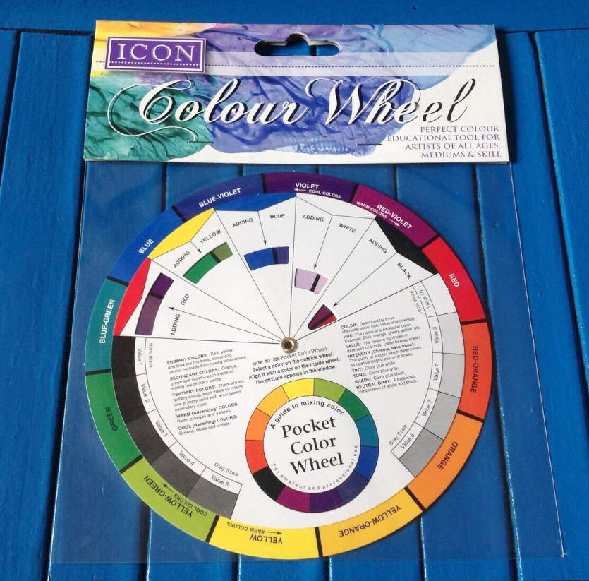 kevin mcsherry art class south dublin colour wheel