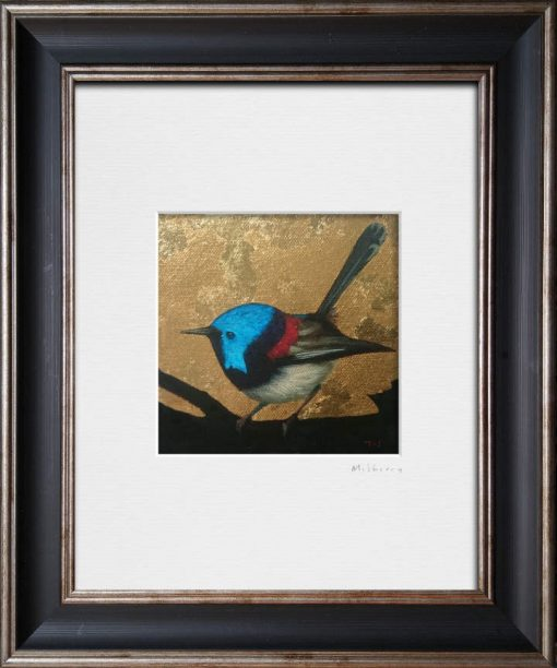 Fairy Wren I. Kevin McSherry Illustration affordable open edition print McSherryStudio.com