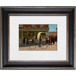 Fish on a Bicycle. Kevin McSherry Illustration affordable open edition print McSherryStudio.com