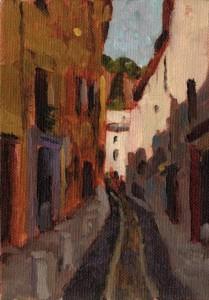 Cotignac Street Study