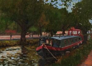 Dublin Canal Boat
