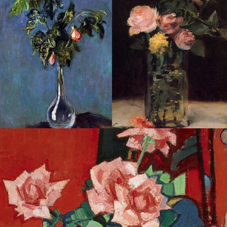 Manet Peploe & Monet Still Lifes