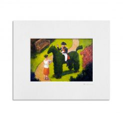 080417_26 Topiary Boney Kevin McSherry Open Edition Print