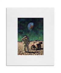 Moonwalk. Kevin McSherry Illustration affordable open edition print McSherryStudio.com