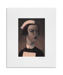 Sister II. Kevin McSherry Illustration affordable open edition print McSherryStudio.com
