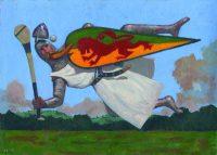 160704 Bould Sir William Marshall. Kevin McSherry Illustration affordable open edition print McSherryStudio.com