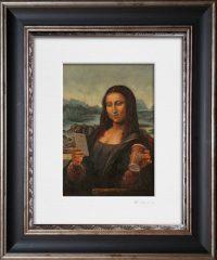 160920 Mona Lisa. Kevin McSherry Illustration affordable open edition print McSherryStudio.com