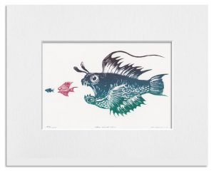 160929 Survival of the Fishest (3 Colour Limited edition of 250.