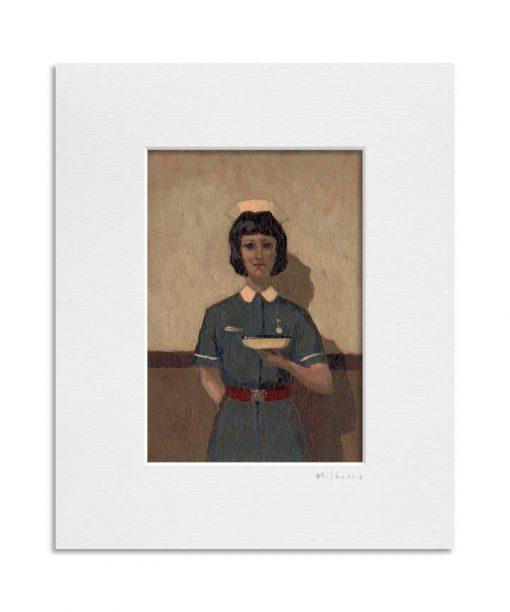 200130_38 Kidney Dish. Kevin McSherry Illustration affordable open edition print McSherryStudio.com