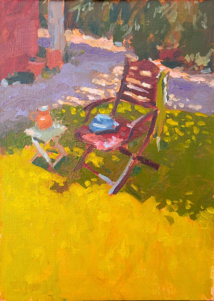 How to Paint Your Own Garden: Sunshine in oils