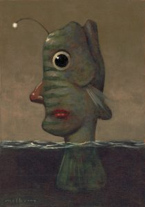 201010_38 Strangefish. Kevin McSherry Illustration affordable open edition print McSherryStudio.com