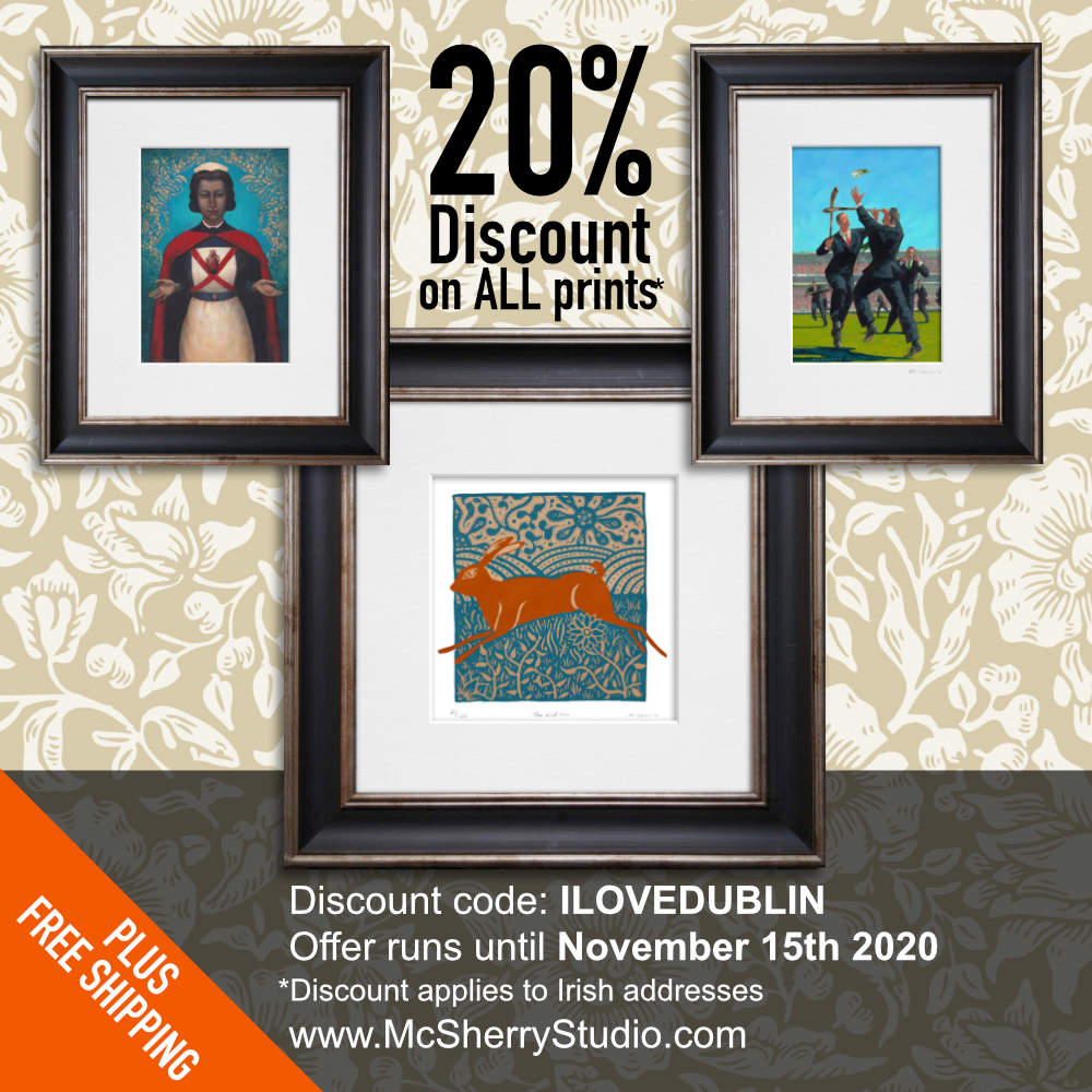 20% Discount on all Kevin McSherry prints on McSherryStudio.com