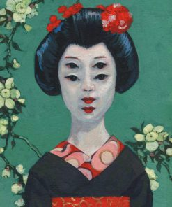 Cho-Cho-Cho-San. Kevin McSherry Illustration affordable open edition print McSherryStudio.com