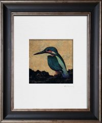 Kingfisher I. Kevin McSherry Illustration affordable open edition print McSherryStudio.com