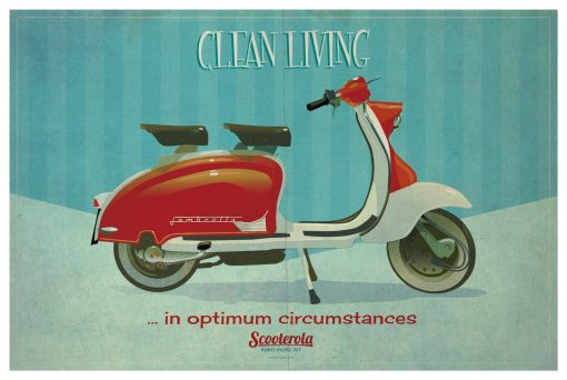 SC170601 Clean Living Poster print scooterola kevin mcsherry web lo RGB