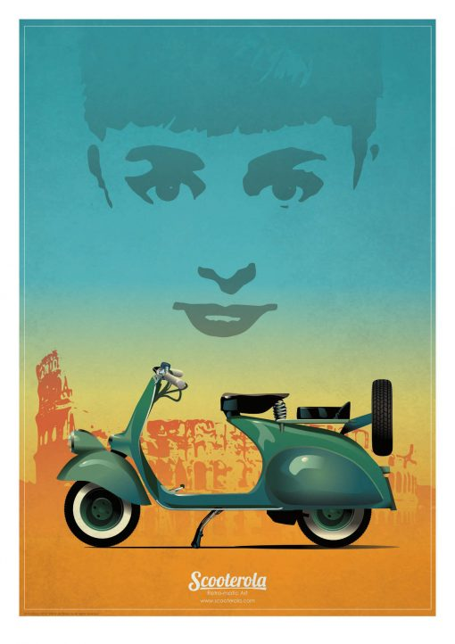 SC180101 Icons retro poster print kevin mcsherry scooterola