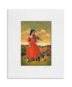 St. Colman's Day. Kevin McSherry Illustration affordable open edition print McSherryStudio.com
