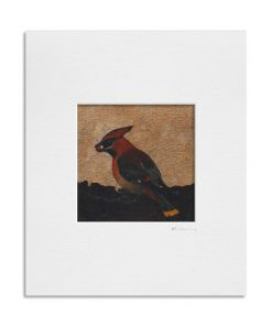 Shadow of the Waxwing. Kevin McSherry Illustration affordable open edition print McSherryStudio.com