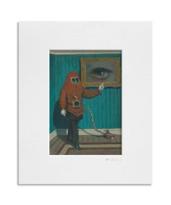 The Intriguing Obsessions of Uncle Eugene. Kevin McSherry Illustration affordable open edition print McSherryStudio.com