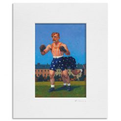 Yankee Dan Halligan-and-a-Half. Kevin McSherry Illustration affordable open edition print McSherryStudio.com