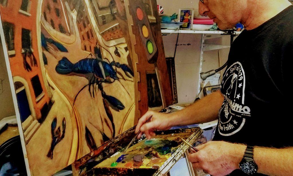 Kevin McSherry art classes in Dublin