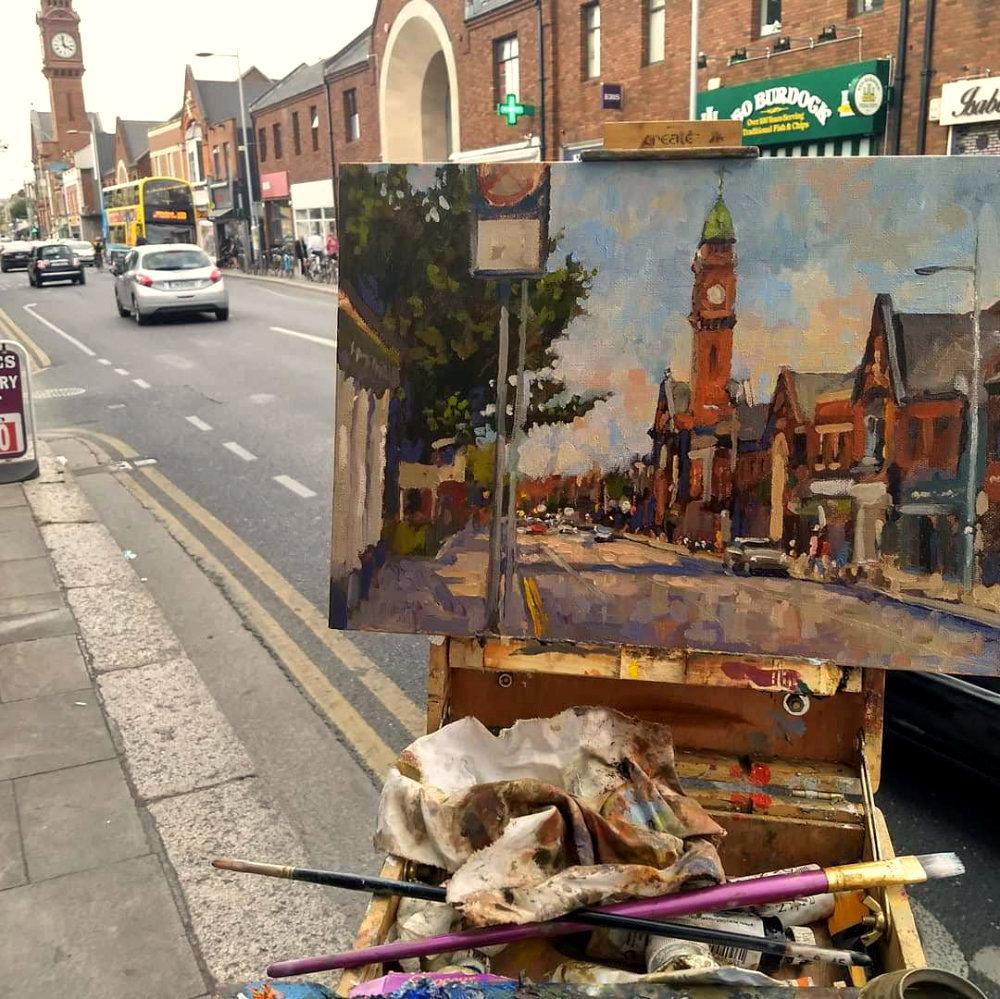 kevin-mcsherry-pleinair-rathmines-landscapes-ireland-oils-wet-into-wet-painting-mcsherrystudio.com-art-classes-dublin-2