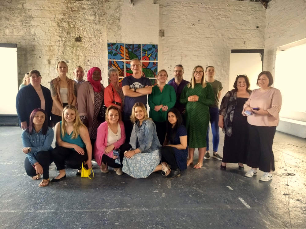 Team Building Art Events in Dublin with artist Kevin McSherry
